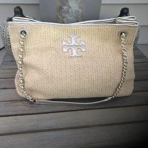 Tory Burch straw bag